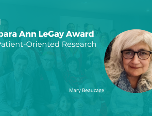 2021 Barbara Ann LeGay Award for Patient-Oriented Research presented to Mary Beaucage